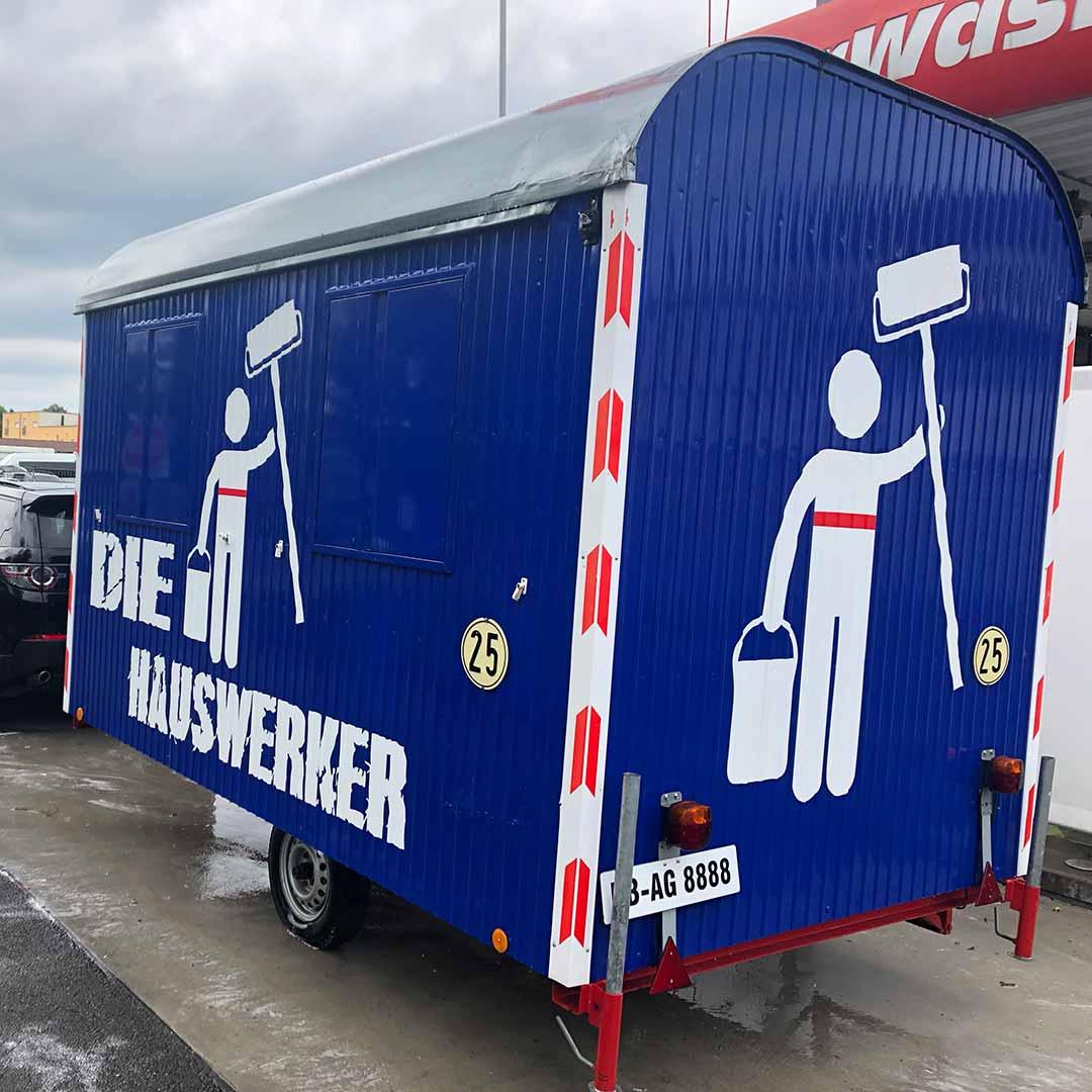 Bauwagen Hauswerker